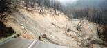 Frana a Cermignano, chiusa SS 81, rischio crolli e minaccia rete acquedotto e gas
