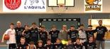 Secondo posto al Nuovo Basket Aquilano Under 13, nel torneo internazionale basket giovanile