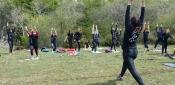 Loredana Gala Porta gli Atleti in Vetta. La World Gym Esce dalla Palestra e Sperimenta l'Aria Aperta
