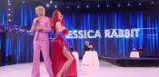 Jessica Rabbit, al Secolo Virginia Raffaele e il Vestito Rivelatore