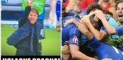 Euro2016, Italia-Spagna 2-0