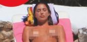 Belen Rodriguez Topless