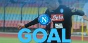 Tonfo del Milan, Napoli da Scudetto. Napoli - Milan 4 a 2