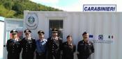 Terremoto, presso la caserma container dei carabinieri, si denunciano armi, preziosi e risparmi