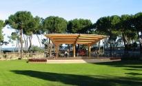 Pineto, Parco della pace