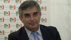 Luciano D'Alfonso alla festa aquilana del Pd