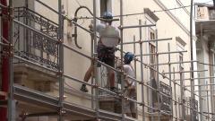 lavori Via Sassa l'Aquila