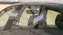 veicolo sottoposto a sequestro