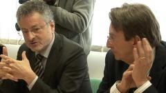 Alfredo Moroni e Massimo Cialente