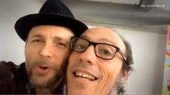 Jovanotti e Guido Meda