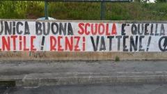 striscioni in Abruzzo