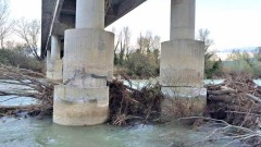 pilastri del Viadotto sul Fiume Sangro