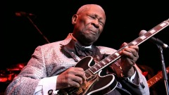 BB King, foto dalla pagina facebook ufficiale