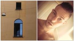 Gianluca Mereu si è lanciato dalla finestra della Questura