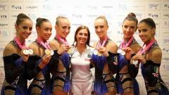 Medaglia d'oro per l'Italia - foto da fb Federginnastica