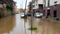Nubifragio a Salerno