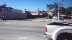Los Angeles, Polizia Uccide Nicholas Robertson
