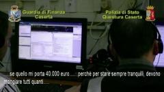 Gdf Caserta, arresti