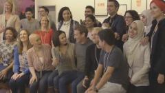 "Fotogramma dal video Facebook ""Friendsday"""