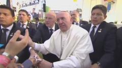 caduta Papa Francesco
