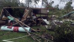 Passaggio del ciclone Winston sulle isole Fiji
