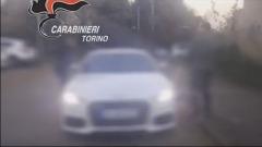 Banda Dell'Audi TT bianca