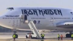 Incidente In Pista Per L'Aereo Degli Iron Maiden