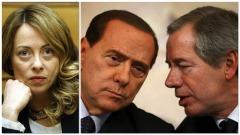 Meloni - Berlusconi - Bertolaso
