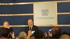 Confindustria, Vincenzo Boccia - foto da twitter @GIConfindustria