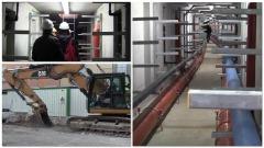 L'Aquila, Lo 'smart tunnel' nel centro storico