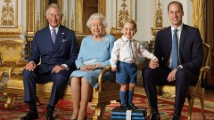La foto ufficiale per i 4 francobolli della Royal Mail