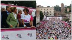 Il ministro della Salute, Beatrice Lorenzin - 'Race for the cure 2016'