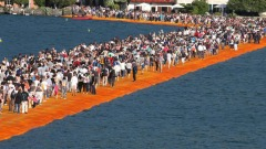 The Floating Piers, l'installazione di Christo sul Lago d'Iseo