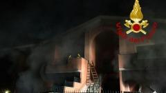 Roma, esplosione in villetta a Frattocchie