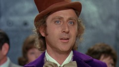 """Gene Wilder in """"Willy Wonka e la fabbrica di cioccolato"""""""
