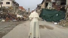 Papa Francesco - foto da twitter