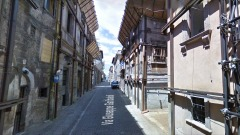 Via Garibaldi L'Aquila - foto da Street View