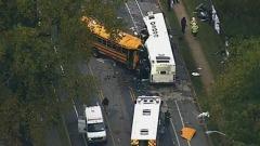 Usa: scontro tra schoolbus e autobus