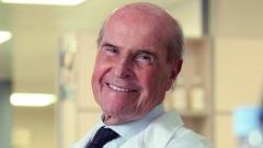 L'Oncologo Umberto Veronesi