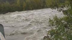 Esondazione del Tanaro Nel Cuneese