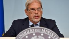 Il Ministro per la Coesione territoriale, Claudio De Vincenti