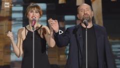 Paola Cortellesi e Antonio Albanese - Sanremo 2017