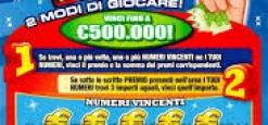 """""""Gratta e vinci """" fortunato, ad Avezzano vinti  500mila euro"""