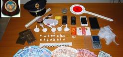 Sorpresi a confezionare la droga in un casolare, Arrestati tre cittadini extracomunitari ad Avezzano