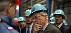 """Ministro De Vincenti ai Laboratori del Gran Sasso: """"Una struttura formidabile orgoglio del Paese"""""""