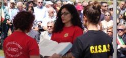 Cerimonia a Campo felice per le vittime dell'elicottero 118, una fontana per ricordarli
