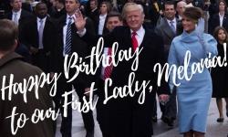 """#HappyBirthday #FirstLady"", Gli Auguri Di #Trump Alla Sua #Melania -  @FLOTUS @realDonaldTrump"