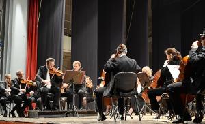 Gli archi dell'Orchestra Sinfonica Abruzzese sabato 17 novembre al ridotto del Teatro Comunale