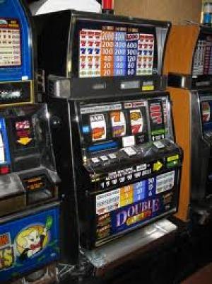 Slot machine aperta