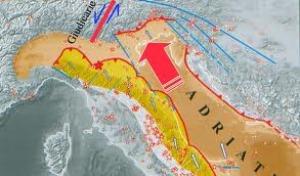 La preoccupante sequenza sismica nell' Adriatico e la previsione degli effetti delle catastrofi